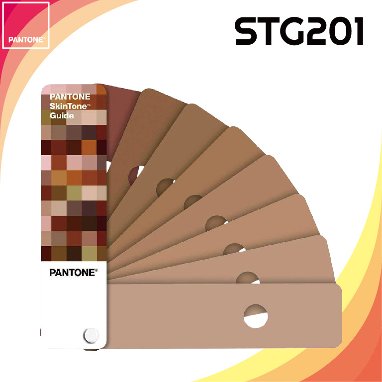 【PANTONE彩通】STG201 SkinTone Guide 膚色指南色卡 美國原裝進口