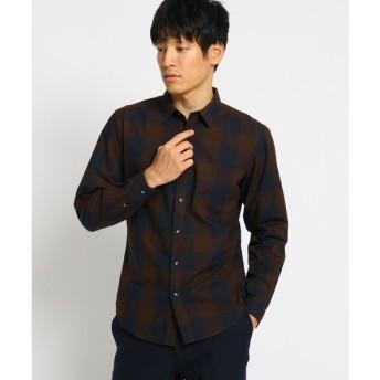 THE SHOP TK / ザ ショップ ティーケー ブロックチェックシャツ