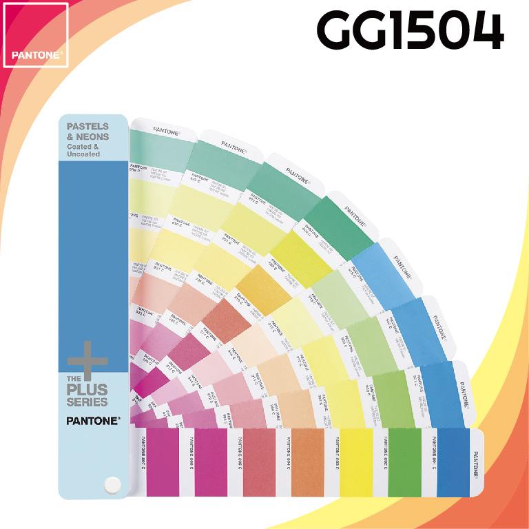 【PANTONE彩通】GG1504 PASTEL&NEONS GUIDE 粉彩色&霓虹色 美國原裝進口
