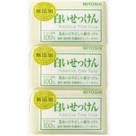 玉の肌 無添加 白い石鹸108GX3P