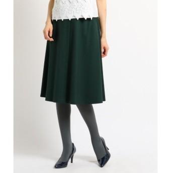 SunaUna / スーナウーナ 【洗える】センタータックセミフレアスカート