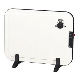 パネルヒーター/補助暖房器具 〔ホワイト〕 幅40.5cm 無段階温度調節 スリム 〔防寒 冬支度 寒さ対策〕〔代引不可〕