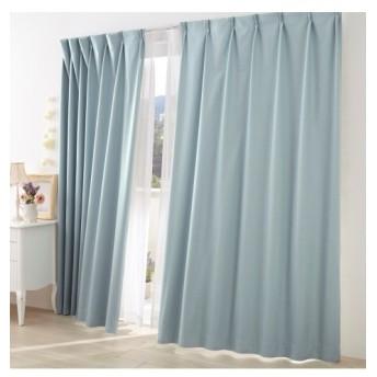 【送料無料!】ドビー織遮熱。防音。1級遮光カーテン ドレープカーテン(遮光あり・なし)