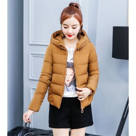 棉服韓版女装綿入れダウンコート/ ショートコート / ベスト レディース / ダウンジャケット フード付き