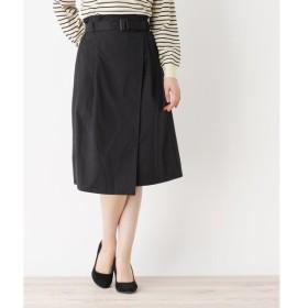 SHOO・LA・RUE / シューラルー ラップ風ベルト付スカート