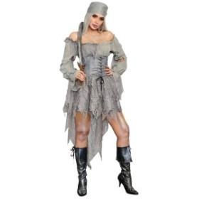 海賊 レディース ゾンビ ハロウィン コスプレ パイレーツ コスチューム 衣装 仮装 PIRATE