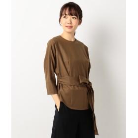 【オンワード】 ICB(アイシービー) Wool Flannel プルオーバーシャツ キャメル 00 レディース 【送料無料】