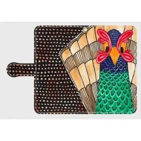 キジ 手帳型スマホケース