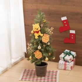 オーナメント 置物 ディズニー クリスマスツリー約75CM ハニーツリーくまのプーさん