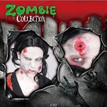 ZOMBIE COLLECTION FXSCAR Gunshot(銃創) コスプレ 衣装 ハロウィン ゾンビ メイク ハロウィン 衣装 プチ仮装 変装グッズ パーティーグッ