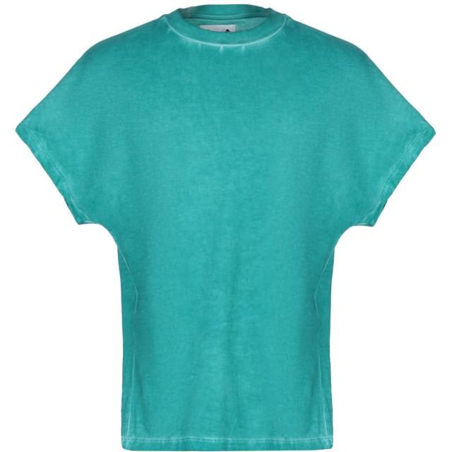 《9/20まで! 限定セール開催中》BONSAI メンズ T シャツ グリーン S コットン 100% / ポリウレタン