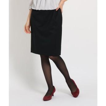 COUP DE CHANCE / クードシャンス 【洗える】ウール混スカート