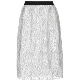 《期間限定 セール開催中》SILVIAN HEACH レディース 7分丈スカート ホワイト XXS ナイロン 85% / ポリエステル 15%