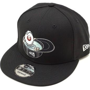 ニューエラ キャップ NEWERA ゲゲゲの鬼太郎 キャップ 目玉のおやじ 9FIFTY CAP バックストラップ メンズ レディース 帽子 ブラック 11785072 FW18