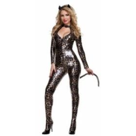 送料無料 ハロウィン コスチューム コスプレ 仮装 レディース アニマル 動物 魔女 悪魔 猫女 セクシー