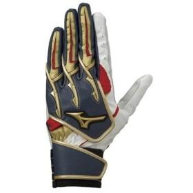 ミズノ MIZUNO シリコンパワーアークW 両手用 野球 バッティング手袋