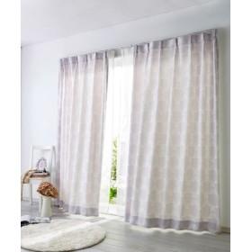 【送料無料!】パステル調リボン柄カーテン ドレープカーテン(遮光あり・なし) Curtains, 窗, 窗簾
