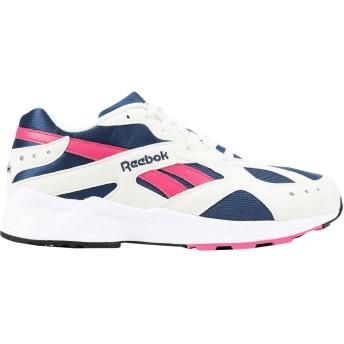 《セール開催中》REEBOK メンズ スニーカー&テニスシューズ(ローカット) ブルー 6.5 紡績繊維 AZTREK