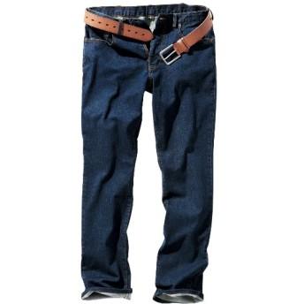 ストレッチ5ポケットジーンズ(股下80cm) ストレートジーンズ(デニム)