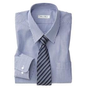抗菌防臭。形態安定長袖ワイシャツ(レギュラーカラ―)(標準シルエット) 大きいサイズメンズ (ワイシャツ)