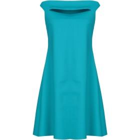 《セール開催中》CHIARA BONI LA PETITE ROBE レディース ミニワンピース&ドレス ターコイズブルー 40 ナイロン 72% / ポリウレタン 28%
