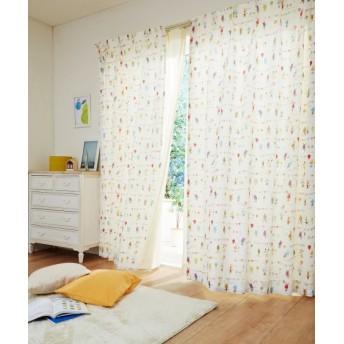 【送料無料!】愉快な小人柄カーテン ドレープカーテン(遮光あり・なし) Curtains, blackout curtains, thermal curtains, Drape(ニッセン、nissen)