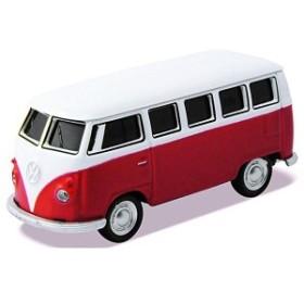 USBメモリー Volkswagen Classical Bus レッド 16GB