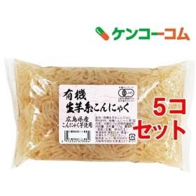 ムソー 有機生芋糸こんにゃく・広島原料 81706 ( 150g5コ )