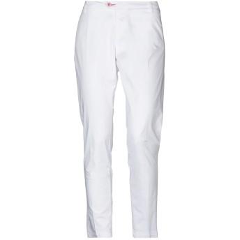 《セール開催中》BARONIO レディース パンツ ホワイト 26 コットン 98% / ポリウレタン 2%