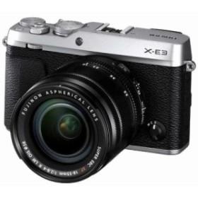 富士フイルム FX-E3LKS デジタルミラーレス一眼カメラ 「X-E3」 ズームレンズキット シルバー