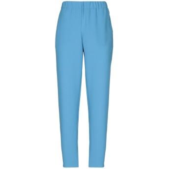 《セール開催中》BLUE LES COPAINS レディース パンツ パステルブルー 40 ポリエステル 100%
