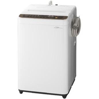 全自動洗濯機 (洗濯7.0kg) NA-F70PB12-T ブラウン