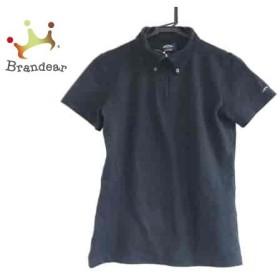 キャロウェイ CALLAWAY 半袖ポロシャツ サイズM レディース 黒 GOLF/ジップアップ   スペシャル特価 20190705