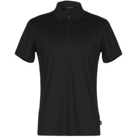 《期間限定 セール開催中》EMPORIO ARMANI メンズ ポロシャツ ブラック S コットン 100%