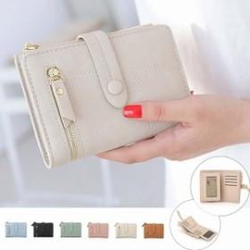 小さい財布 レディース 二つ折り財布 小銭入れ カード入れ 多い ウォレット 即納送料激安399円
