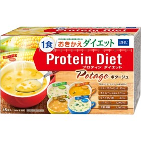 DHC プロティンダイエット ポタージュ (15袋入(5味各3袋))