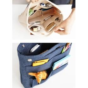 トートバッグ - Gain-Mart トートバッグ用 バッグインバッグ 整理 収納 仕分け bag 鞄 中身 インナーバッグ 収納バッグ ポーチ レディースメンズフェルト 大きめ バックインバック リュックインバック トート オレンジ アイボリー マスタード プラム インディ