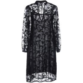《セール開催中》JUST CAVALLI レディース ミニワンピース&ドレス ブラック 40 ポリエステル 100%