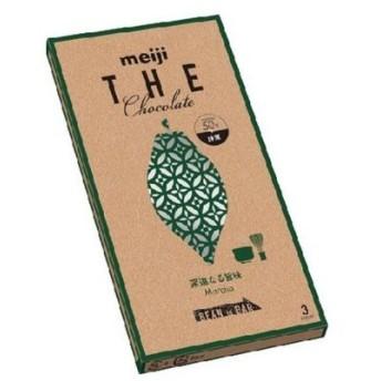 D-1 送料無料 ★明治 明治 ザ・チョコレート 深遠なる旨味 抹茶(緑色) 50g 1個★ ポイント 消化