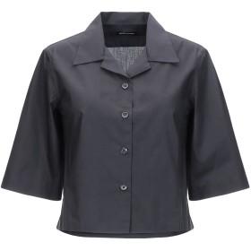 《期間限定 セール開催中》DIANE KRGER レディース シャツ ブラック 38 コットン 100%