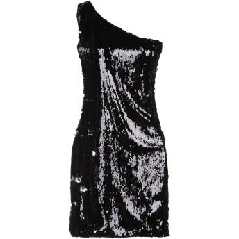 《期間限定セール開催中!》GUESS BY MARCIANO レディース ミニワンピース&ドレス ブラック 38 ポリエステル 100%
