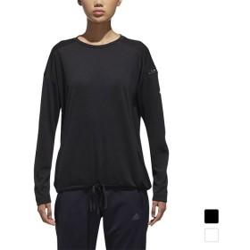 アディダス レディース 長袖 機能Tシャツ W adidas 24/7 リラックスロングスリーブT FKK15 adidas