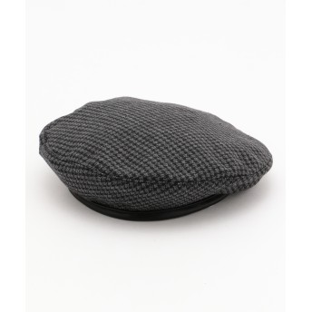 Casselini キャセリーニ チェック柄ベレー帽 レディース HTL8YW0100