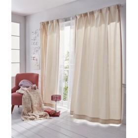 【送料無料!】ラメ入りエレガントフラワー刺しゅうカーテン ドレープカーテン(遮光あり・なし) Curtains, 窗, 窗簾
