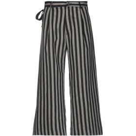 《期間限定 セール開催中》TOM REBL メンズ パンツ ブラック 52 コットン 66% / 麻 24% / ポリエステル 10%
