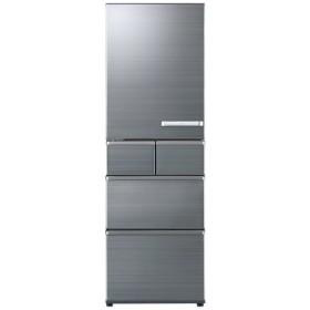 AQR-SV42HL-S 冷蔵庫 SVシリーズ チタニウムシルバー [5ドア /左開きタイプ /415L]