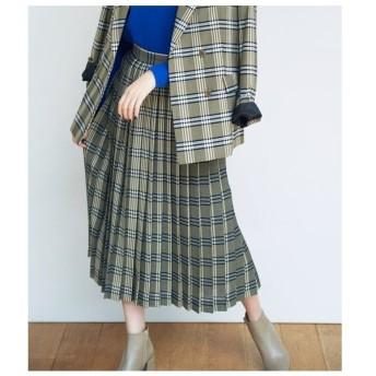 ROPE' / ロペ 【セットアップ対応】チェックプリーツスカート