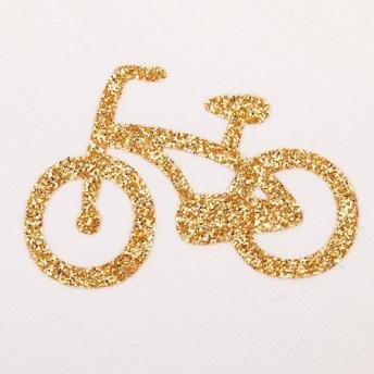 アイロンシール 自転車