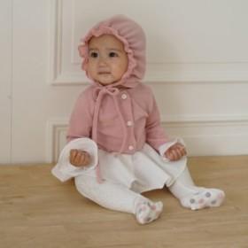 フリル帽子 ロンパース ワンピース ベビーロンパース ベビー服 女の子 赤ちゃん服 女児キッズ パステルカラー お呼ばれ 普段着