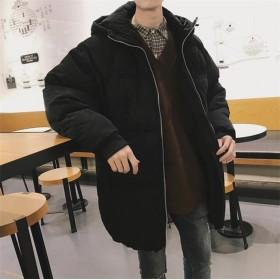 新作 メンズ コート coat ダウンコート アウター 上着 フード 男女兼用 カップル 厚 冬 全3色-